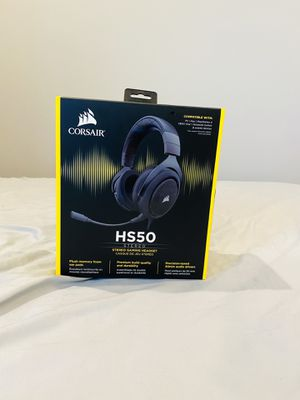 Corsair HS50 Stereo Gaming Headset for Sale in Baton Rouge, LA
