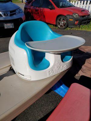Bumpo kids chair edith Bumpo removable toy for Sale in Corona, CA