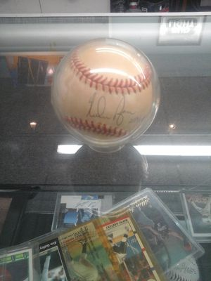 Nolan Ryan signed autographed base ball for Sale in Charlotte, NC