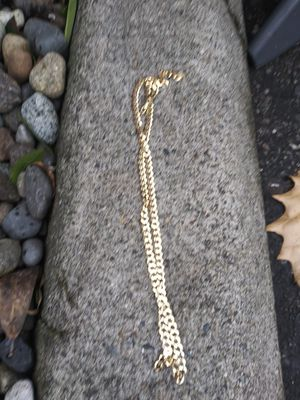 150 Brand new 14k gold chain 24 in long 150 Great deal!!! for Sale in Tacoma, WA