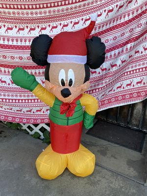 New Disney Mickey Mouse Christmas inflatable for Sale in Baldwin Park, CA