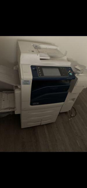 Commercial Xerox copier, printer, scanner, stapler, 3 drawers Letter & Legal for Sale in Tucker, GA