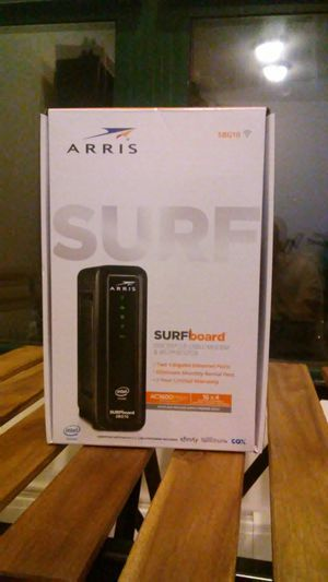 2-in-1 Arris Surfboard SBG10 Cable Modem & Router for Sale in Chicago, IL