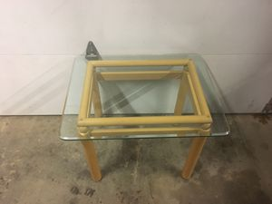 Coffee table and tables for Sale in Kalamazoo, MI