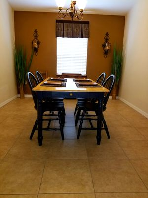 Dining Room Set - Table With four Chairs for Sale in Lakeland, FL