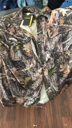 Cabellas 2x shirt new with tags for Sale in Henderson, KY