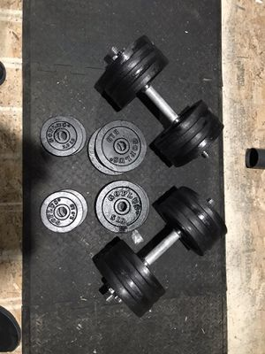 Dumbell weight set 200 lbs for Sale in Pasco, WA