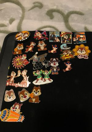Disney pins Chip and dale (PRICES VARY BY PIN) for Sale in Rancho Cucamonga, CA
