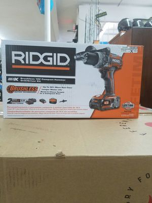 RIDGID 18V COMPACT HAMMER - MODEL # R86116K for Sale in Clearwater, FL