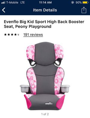 Evenflo booster seats $15 each for Sale in Las Vegas, NV
