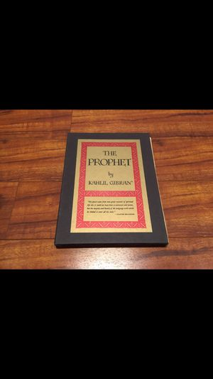 The Prophet By Kahlil Gibran. for Sale in Los Angeles, CA