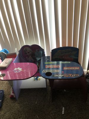 Frozen and Car's kids desk for Sale in Roswell, GA