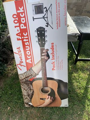 Fender acoustic pack guitar for Sale in San Leandro, CA