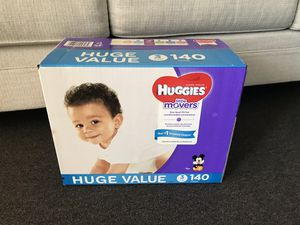 Size 3 Huggies Diapers for Sale in National City, CA