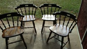 Barrell back chairs for Sale in Spartanburg, SC
