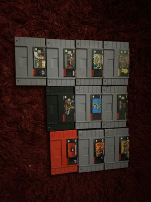 10 Super Nintendo Games for Sale in Homestead, FL