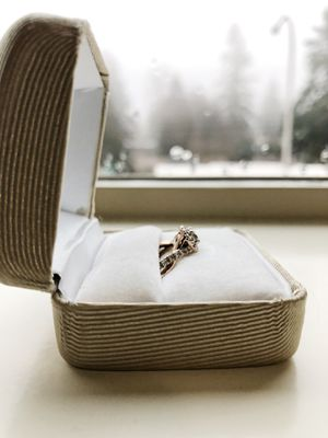 Rose gold diamond ring for Sale in Federal Way, WA