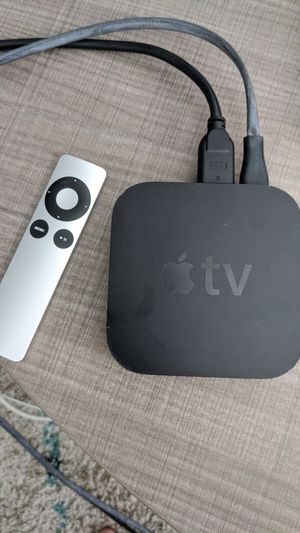 Apple TV with remote for Sale in Tempe, AZ