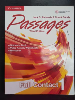 Passages Third Edition Book for Sale in McKinney, TX