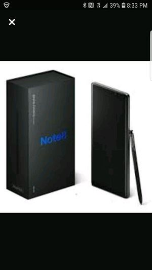 Samsung Galaxy Note 8 Midnight Black Tmobile, Brand new sealed box never opened for Sale in Sunnyvale, CA