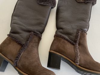 In excellent condition very unique Pajar women's leather boots, size 8 US for Sale in Arlington,  WA