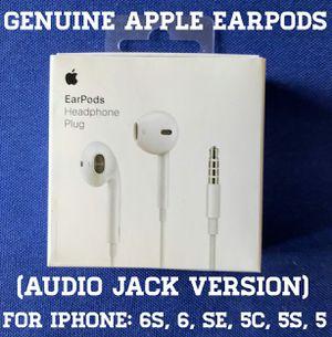 Genuine New Apple Headphones (Audio Jack Version) for Sale in Falls Church, VA