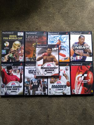 PS2 Games for Sale in Costa Mesa, CA