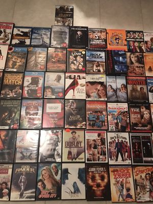 67 dvds, blue ray, seasons for Sale in Cranford, NJ