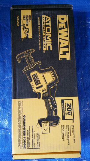 $120. DEWALT ATOMIC 20-Volt MAX Brushless Compact Reciprocating Saw (Tool-Only) for Sale in Evergreen, CO