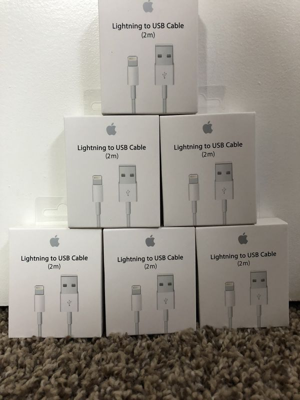 Brand new original apple iPhone chargers
