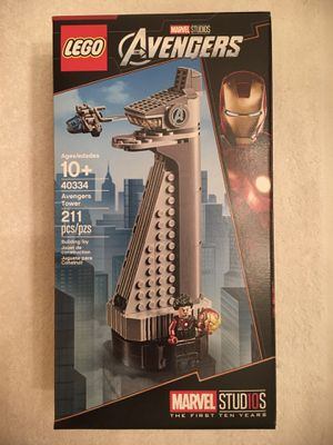 Lego Avengers Tower 40334 Store Promotional Set for Sale in San Diego, CA
