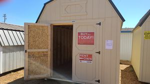 10 x 16' Old Hickory Shed with Lofts for Sale in Modesto, CA
