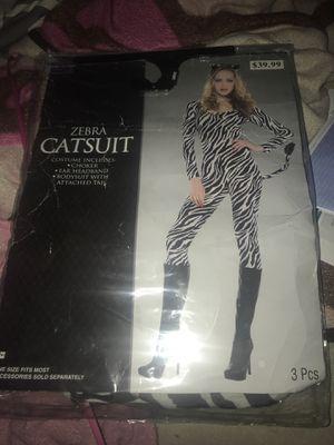 Zebra cat suit for Sale in Apple Valley, CA