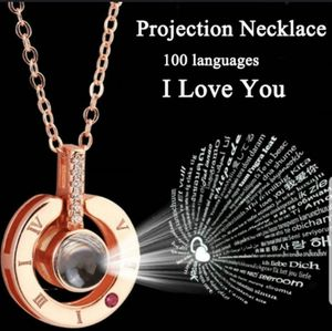 Projection 100 Languages I Love You Charm Pendant Necklace for Sale in Snellville, GA