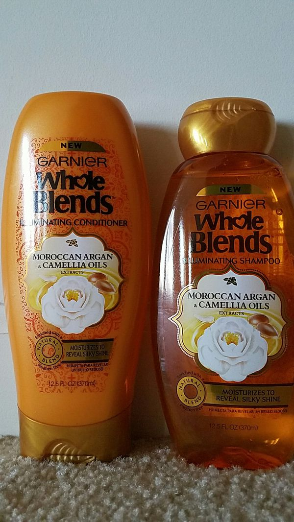 Garnier whole blends shampoo and conditioner set $5 price firm