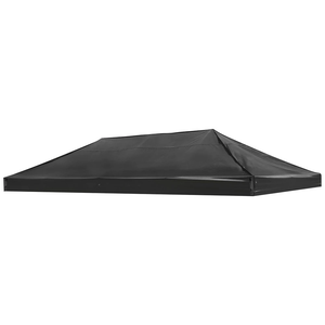(BRAND NEW) $60 - Black 10x20 Replacement Canopy Carpa Top Only in 1080D Waterproof Oxford for Sale in Montclair, CA