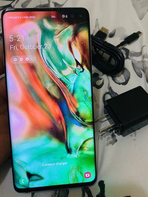 Samsung galaxy S10plus blue 128gb factory unlocked (firm price) for Sale in Davie, FL