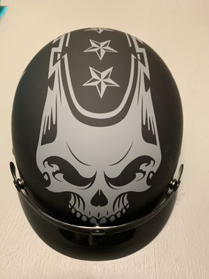 Half shell motorcycle helmet for Sale in Fort Belvoir, VA