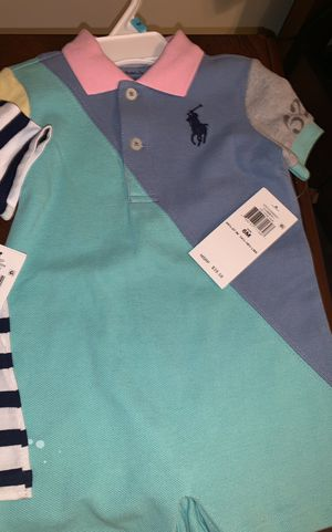 brand new Polo onesie six months for Sale in FAIRMOUNT HGT, MD
