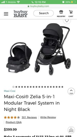 Car seat travel system for Sale in El Paso, TX