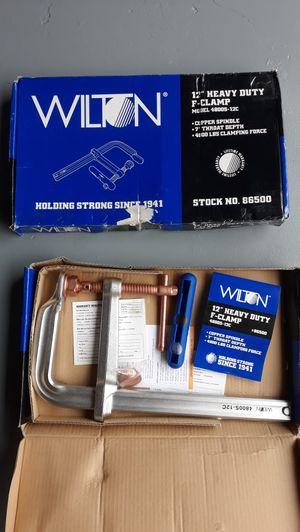 Wilton f clamp for Sale in Coral Springs, FL