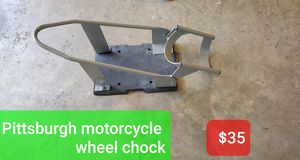 Motorcycle wheel chock New for Sale in St. Louis, MO
