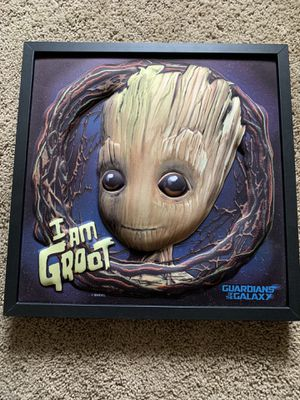 3D Groot Wall Art for Sale in Brighton, CO