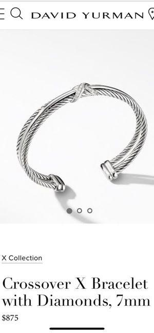 David Yurman Bracelet X collection paid 875$ asking 400$ for Sale in Cranston, RI