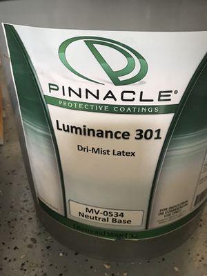 2-5 gal Luminance 300 Latex Dri-Mist paint for Sale in Richmond, CA