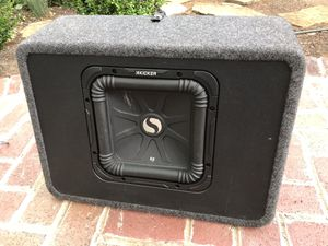 Profile California 800 watt SX Amplifier, Kicker L3 Box Speaker for Sale in Columbia, SC