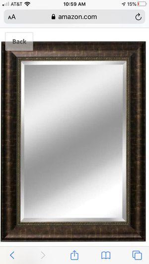 Bathroom mirror and Vanity Light combo for Sale in Alexandria, VA