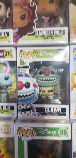 Nightmare before Christmas Clown and Wolfman funko pop for Sale in Downey, CA