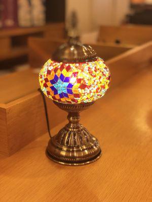Handmade glass lamp for Sale in Dallas, TX