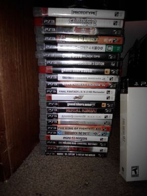 22 PS3 Games with 1 Steelbook and Collectors Edition for Sale in Anaheim, CA